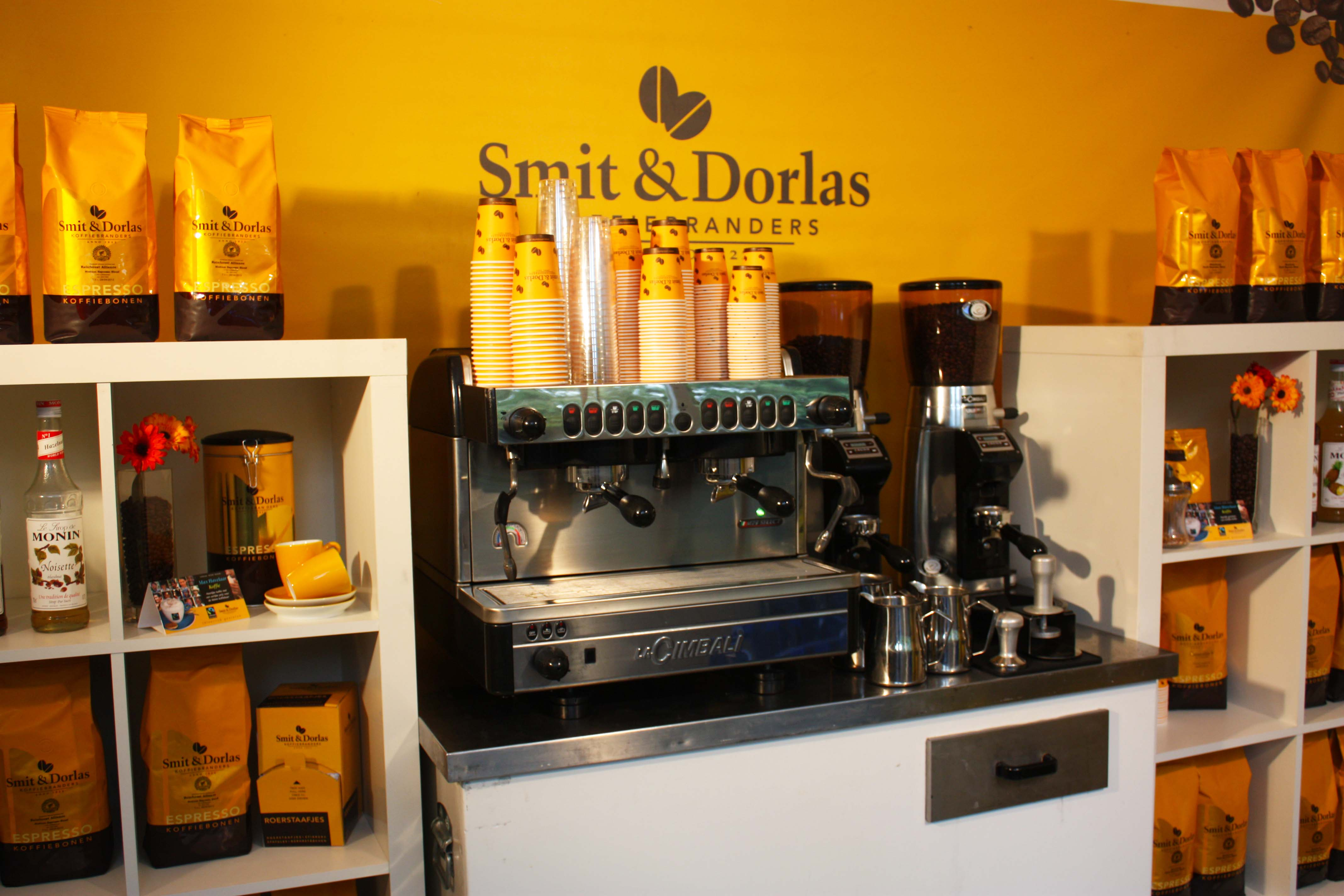 Luxe piston barista machine